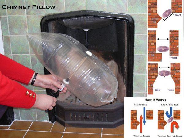 Chimney pillow