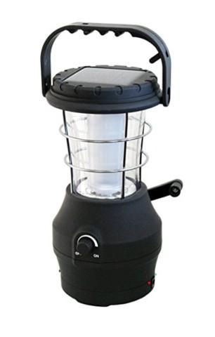 Hippo wind up solar lantern