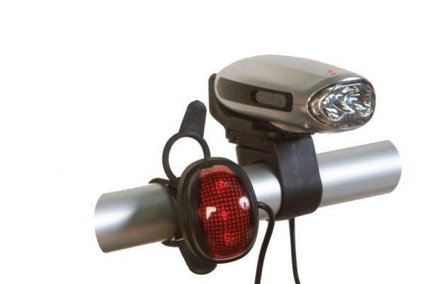 Powerplus swallow wind up bike lights