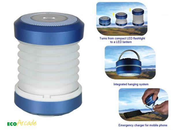 POWERplus wind up solar lantern