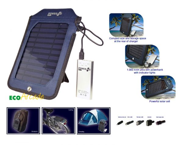 POWERPLUS Cobra solar powerbank