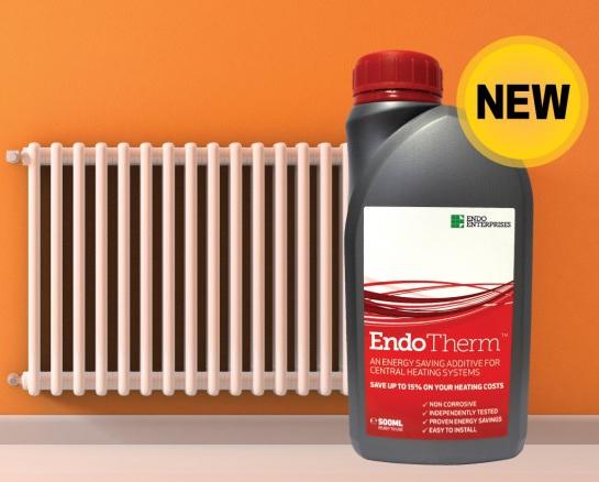 Endotherm energy saving radiator additive