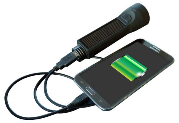 Powerplus salamander torch and powerbank