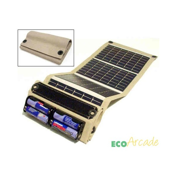 PowerFilm® AA battery foldable solar charger