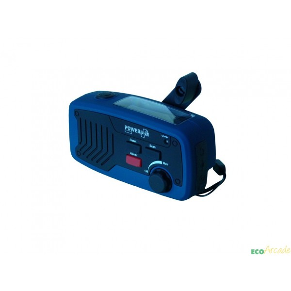 POWERplus® Panther 5 in 1 multifunctional solar wind up radio