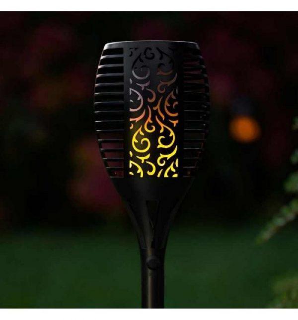 POWERplus Dragon Solar flame effect garden light