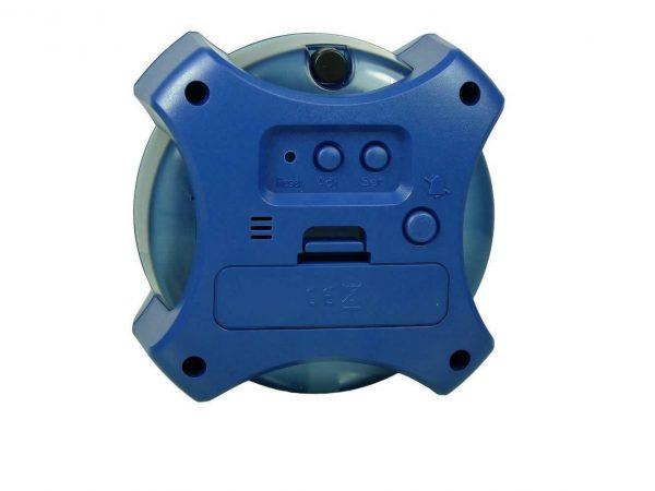 H2O water powered clock back