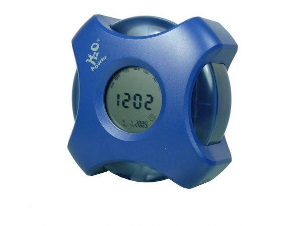 H2O water powered clock