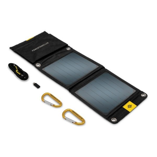 FALCON 7 foldable solar panel by POWERTRAVELLER