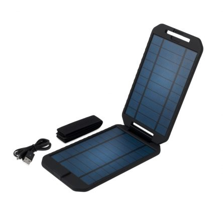 EXTREME SOLAR clamshell solar panel charger by POWERTRAVELLER