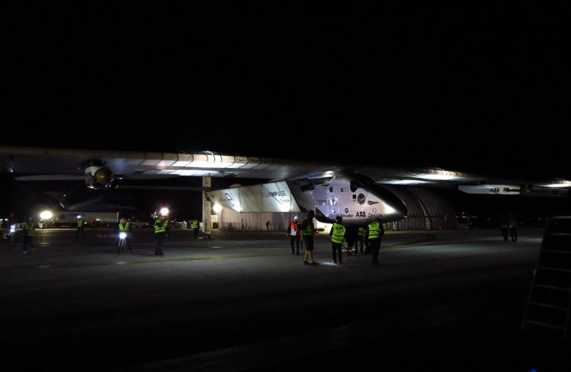 "Solar Impulse ""HB-SIB"" by redlegsfan21 is licensed under CC BY-SA 2.0"