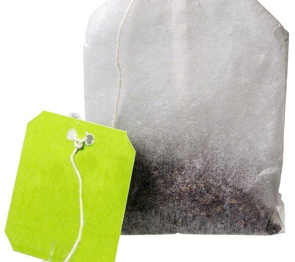 tea bags hidden plastic