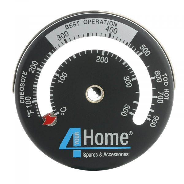Stove top fan thermostat