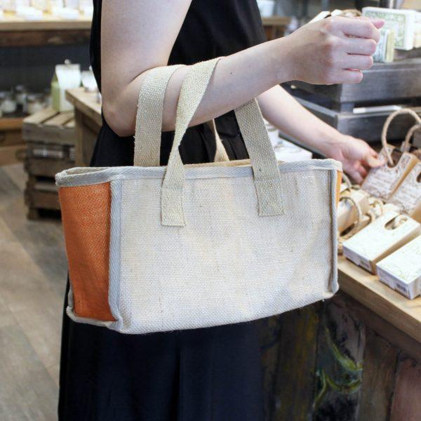 Natural Jute Shipping bag